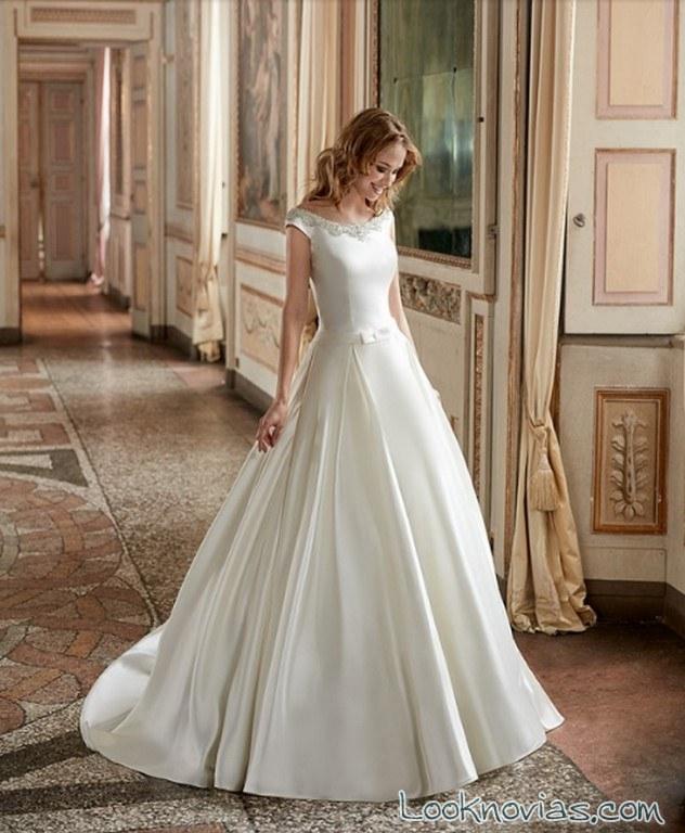 vestido sencillo novias minimalistas