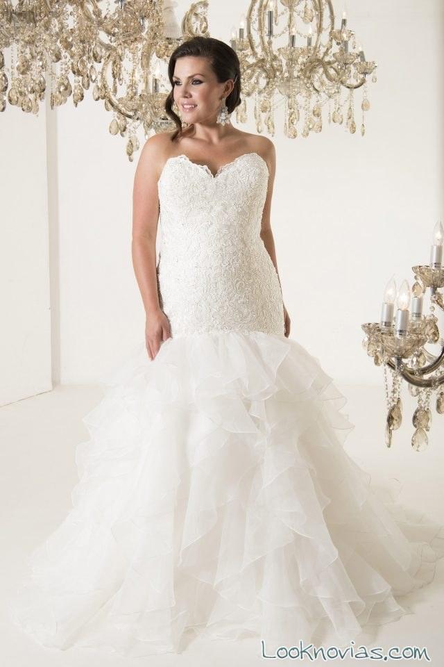 vestido sirena callista bridal 2017