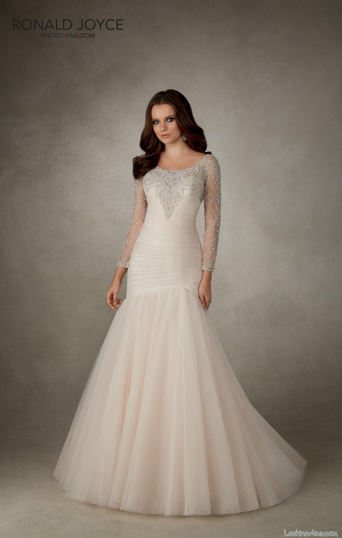 Vestidos de novia estilo semi sirena