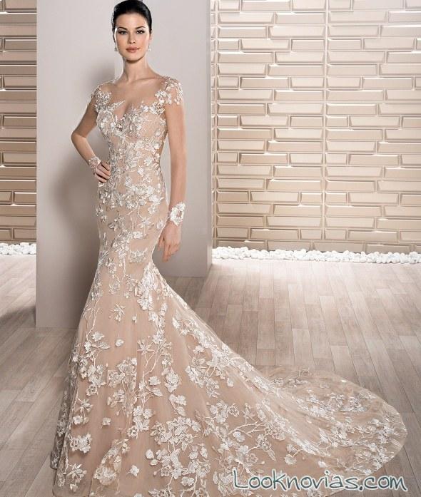 vestidos de novia color nude – mini vestidos