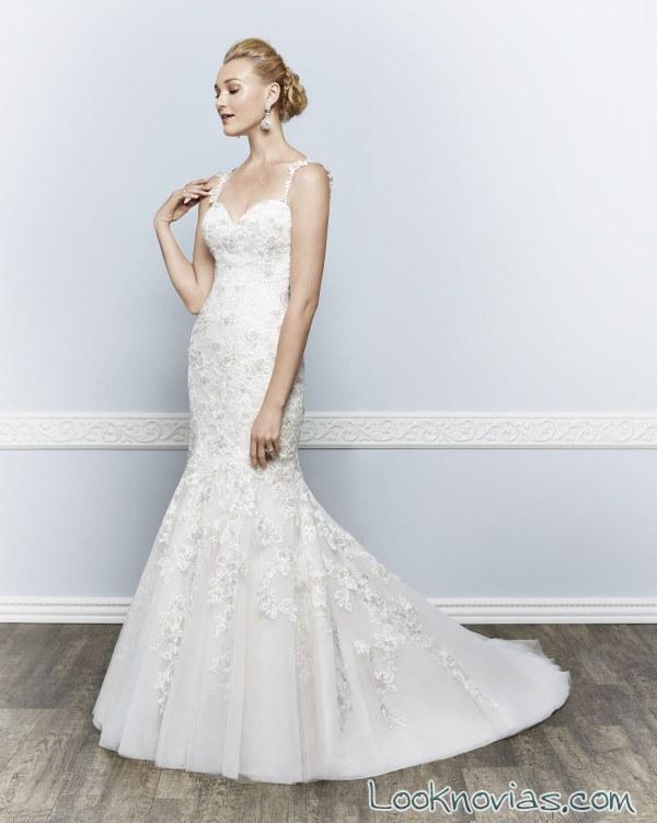 vestido sirena novias modernas 2016
