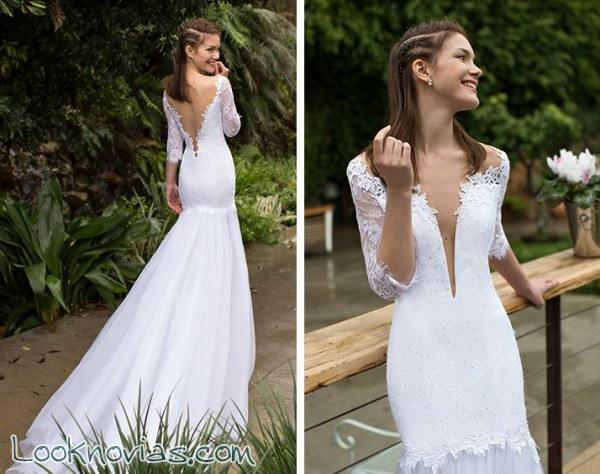 Noya Bridal nos muestra unos vestidos diferentes