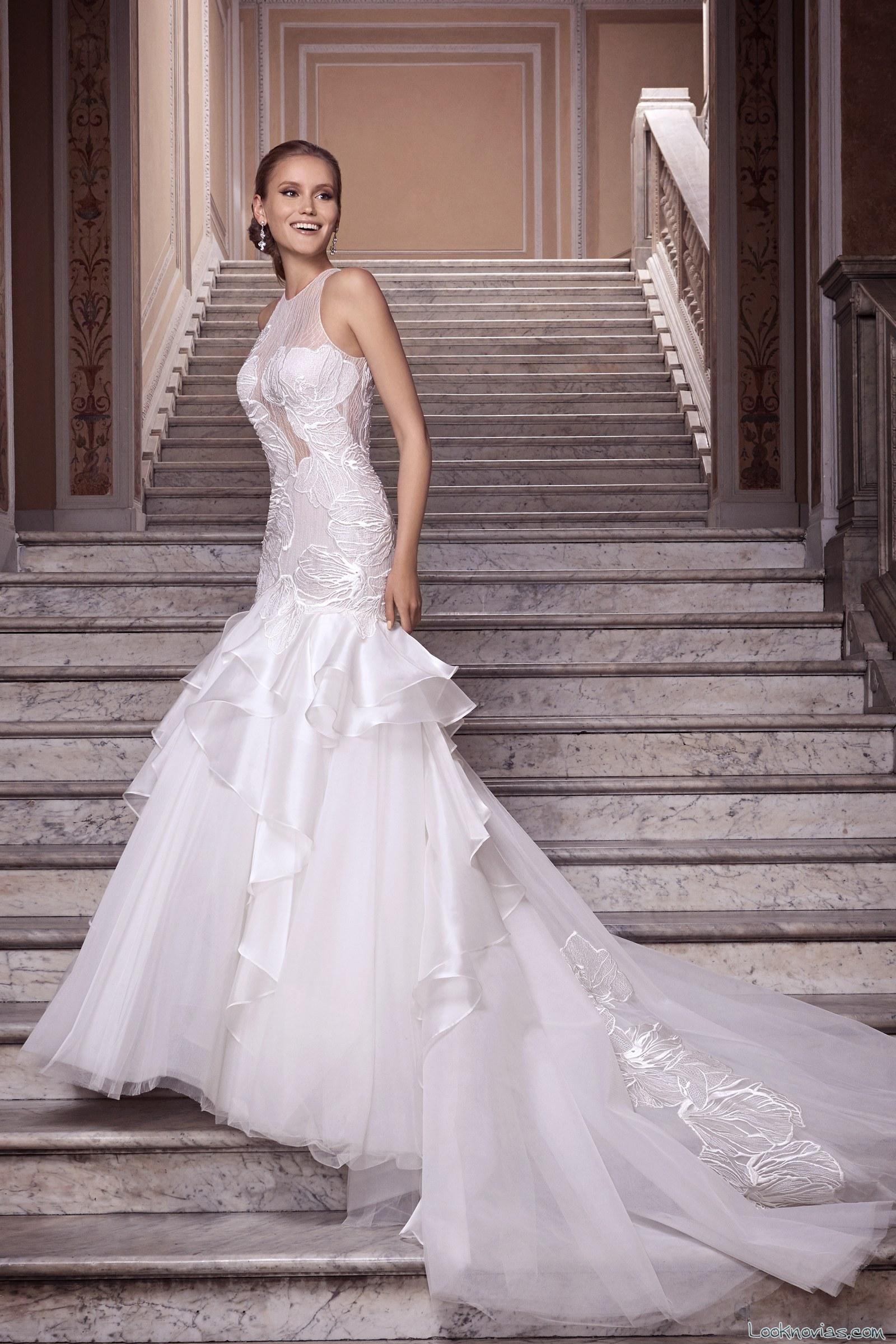 vestido sirena valentini spose 2017