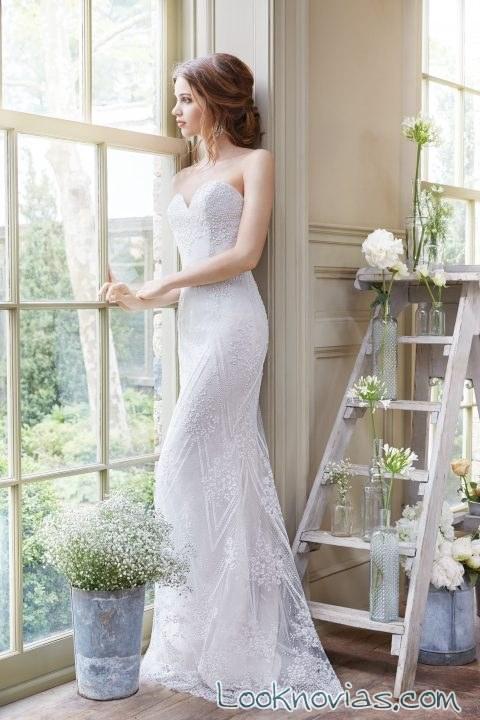 vestido tara keely largo y de corte sirena 2016