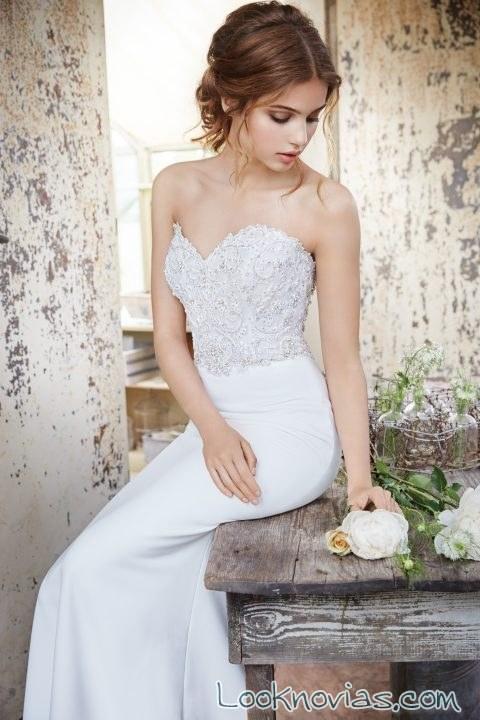 vestido tara keely otoño 2016 escote corazón