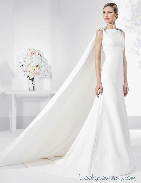 vestido tirantes novias franc sarabia