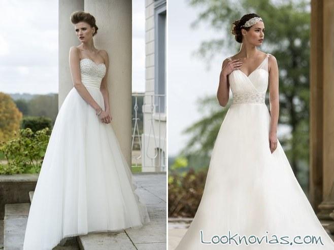 vestido true bride corte princesa