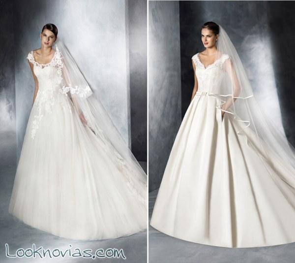 Los mejores vestidos princesa de White One