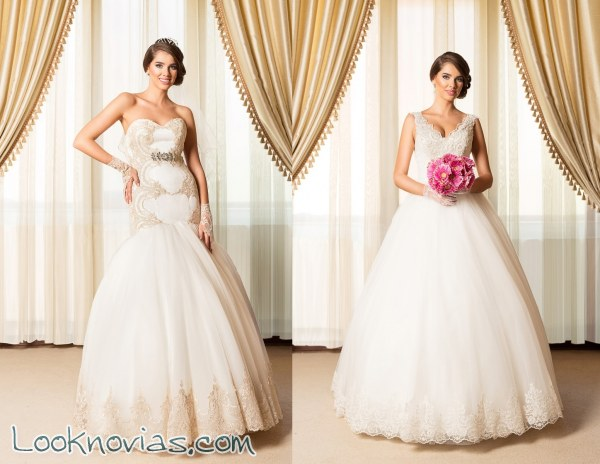 Bordados de lujo para vestidos de Alice Design