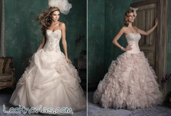 Los vestidos de novia de Alta Costura con dosis de color