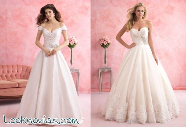Romance, una colección de Allure Bridals