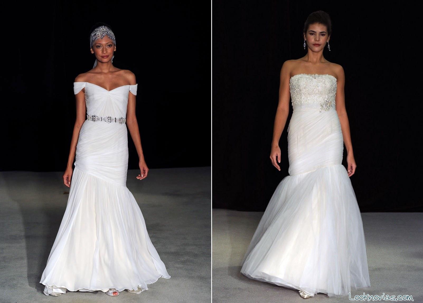 Vestidos Anne Barge colección 2015