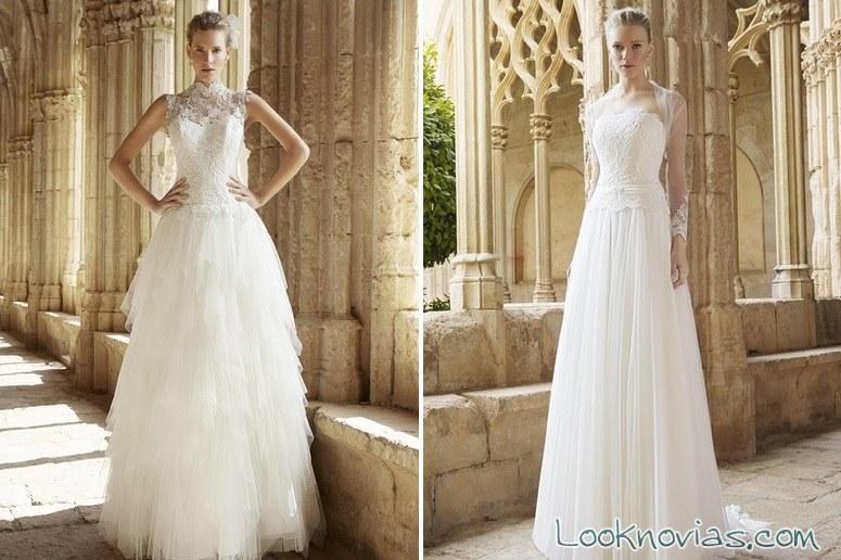 vestidos blancos largos de bundo