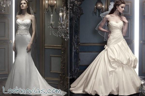 4 vestidos de Cb Couture