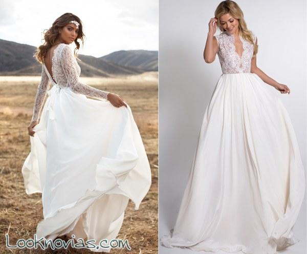 Sensualidad en los vestidos de novia Lurelly