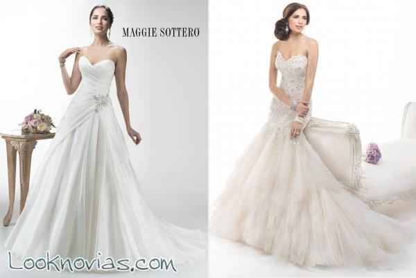 Los vestidos de la Colección Platinum llegan a Maggie Sottero