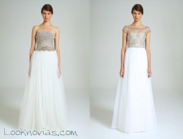 Collette Dinnigan y cuatro nuevos vestidos
