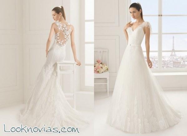 no te pierdas estos vestidos de novia rosa clará!