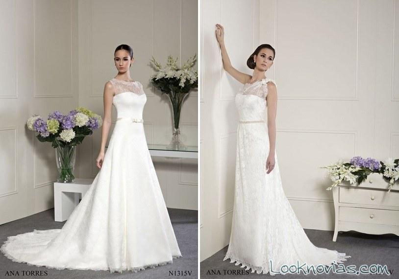vestidos para novia por ana torres