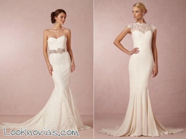 8 vestidos para novia de BHLDN