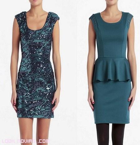 vestidos color azul