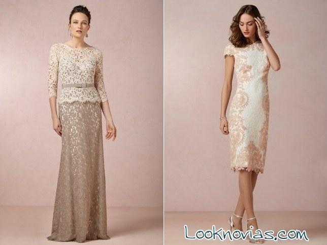 vestidos cortos y largos para madrinas