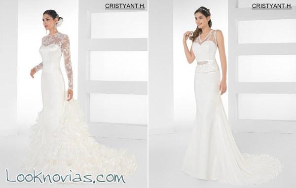 6 vestidos de novia por Cristyant H