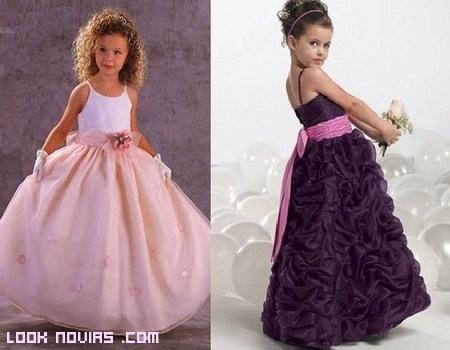 Vestidos para damitas de boda