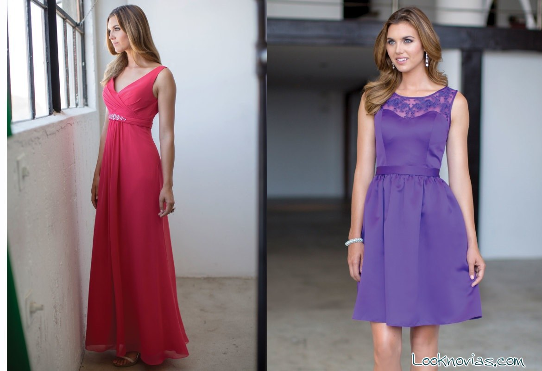 Modelo de vestido para dama de amor