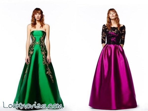 Vestidos de fiesta Pre-Fall 2014