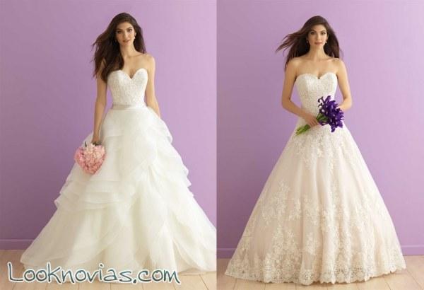 Vestidos románticos de Allure Bridals