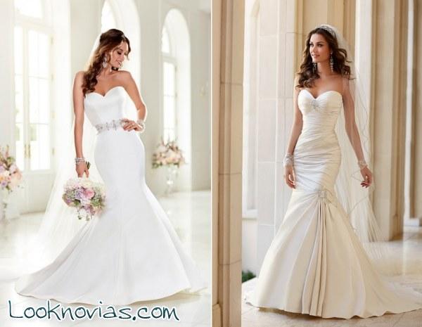 Stella York y sus nuevos vestidos de novia