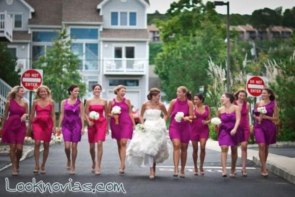 ¿Qué color prefieres para el vestido de las damas?