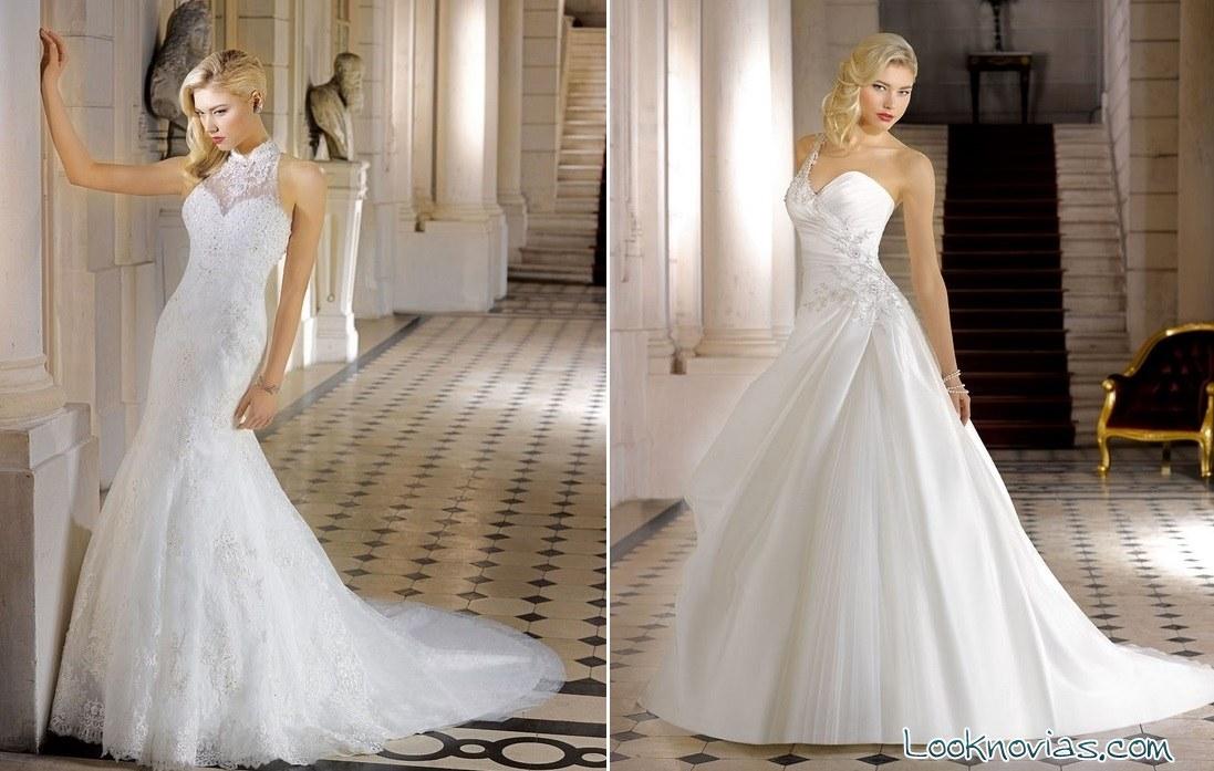 vestidos de novia colección Miss Kelly
