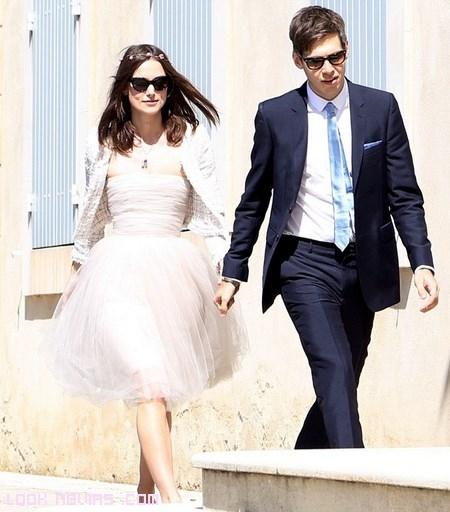 novias sencillas con vestidos de fiesta