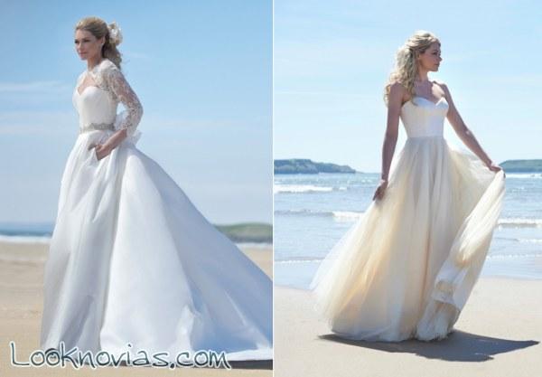 Vestidos para una boda sencilla