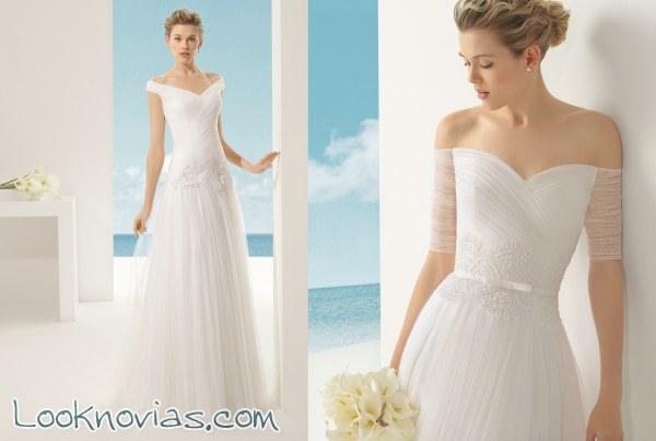 Delicada y elegante colección de novia