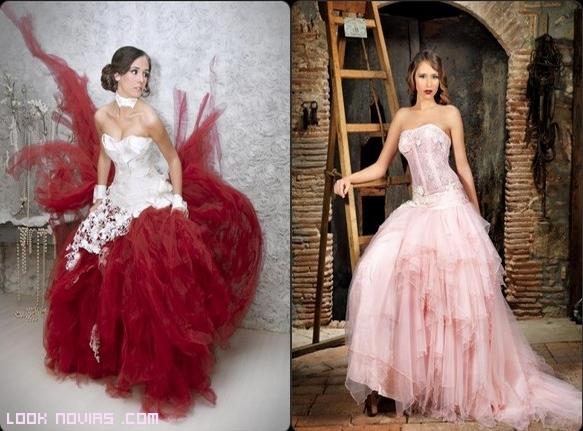 corpiños en vestidos de novia