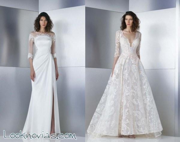 Espectaculares vestidos de la firma Gemy Maalouf