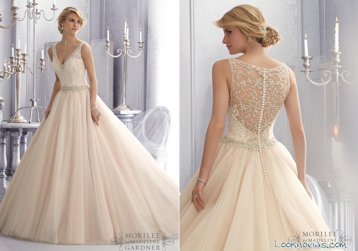 Vestido de boda de Mori Lee