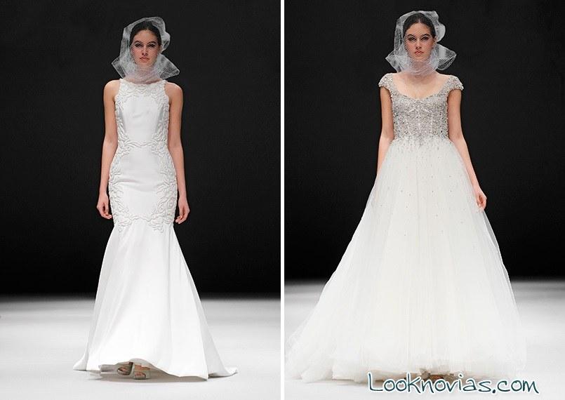Vestidos de novia originales de badgley mischka