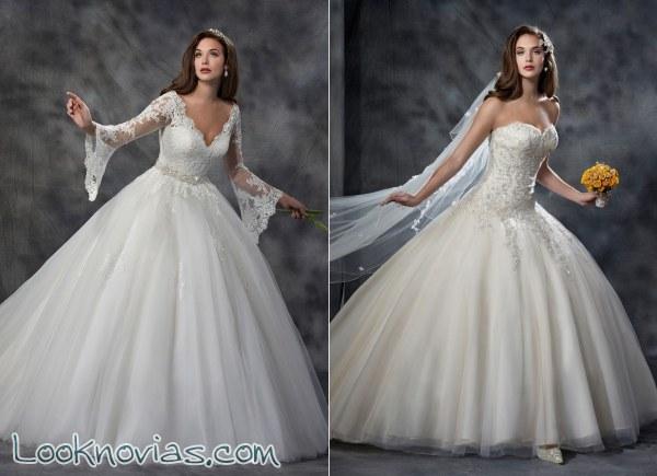 Karelina Sposa presenta sus trajes de novia más asombrosos