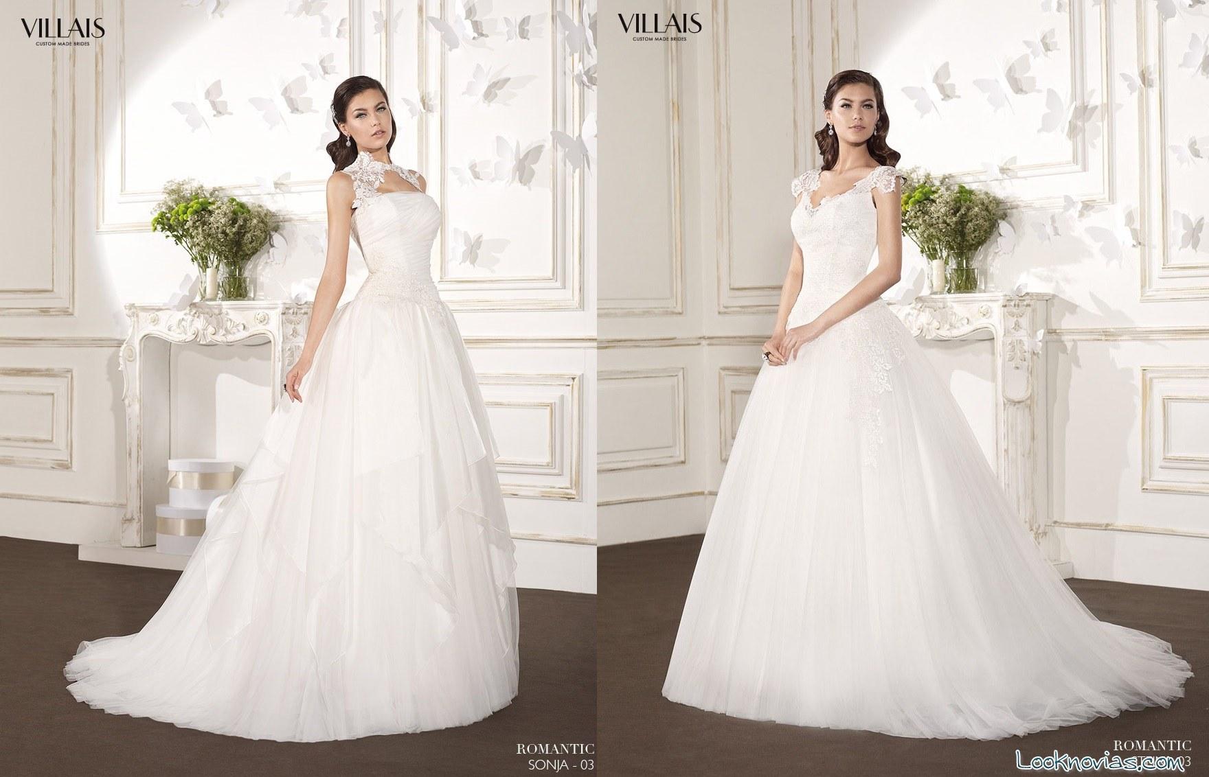 vestidos de novia princesa Villais