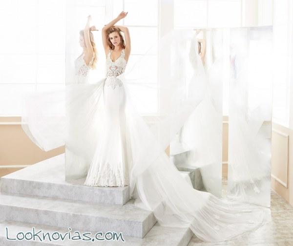 Transparencias y sensualidad en estos vestidos muy elegantes