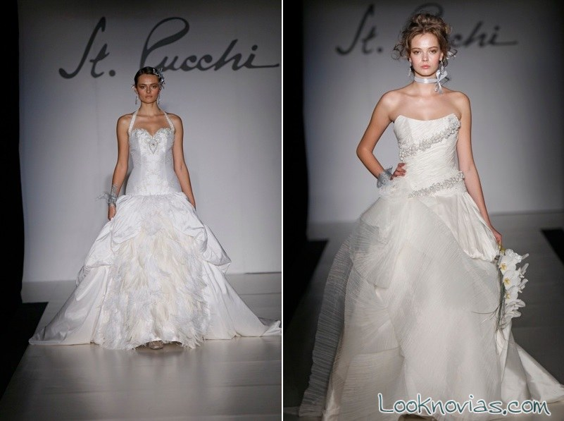 vestidos de novia St Pucci