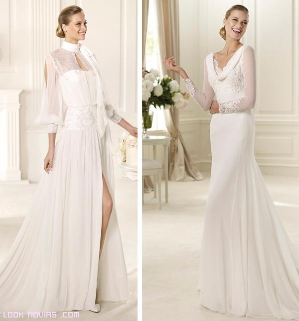 vestidos de novia Manuel Mota