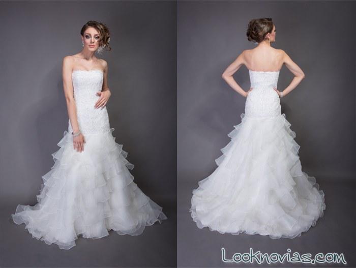 vestidos elegantes de angel rivera