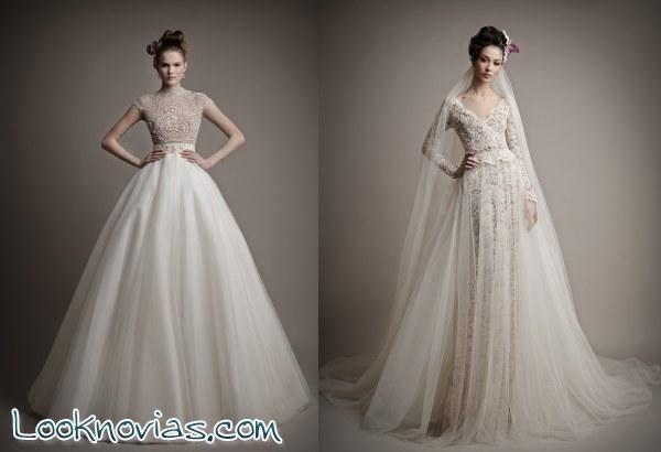 Unos vestidos originales de Ersa Atelier