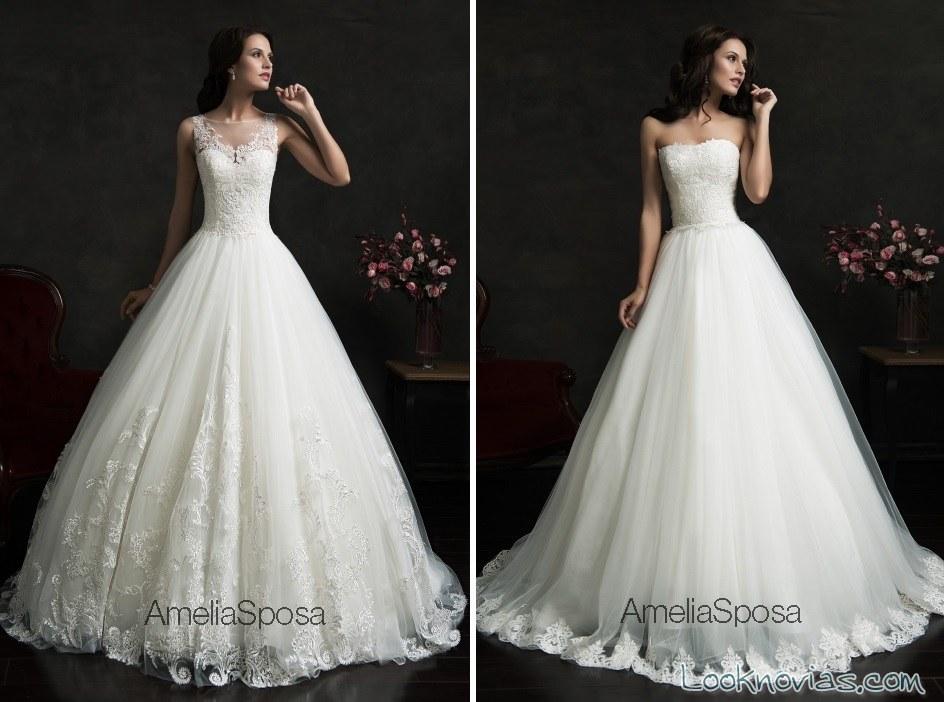 vestidos falda corte a de amelia sposa
