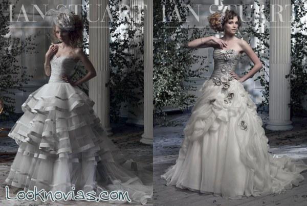 Vestidos para novia Ian Stuart, una colección diferente